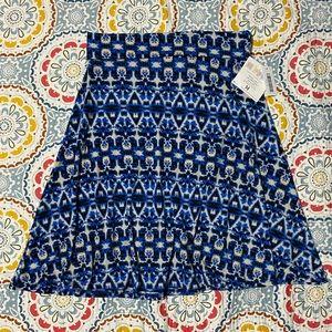 ⭐️3/$21 LuLaRoe Azure skirt size medium NWT